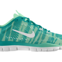 Nike Free TR Fit 4 iD Custom Women's Training Shoes - Green