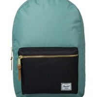 Herschel Supply Co. Seafoam/Black Settlement Backpack | HYPEBEAST Store. Shop Online for Men's Fashion, Streetwear, Sneakers, Accessories