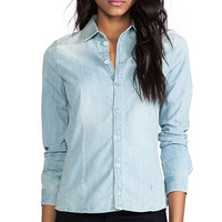 G-Star Tailor Straight Shirt in Blue