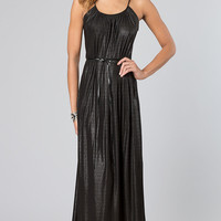 Floor Length Spaghetti Strap Dress