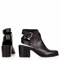 ALWAYS BUCKLE ANKLE BOOTS