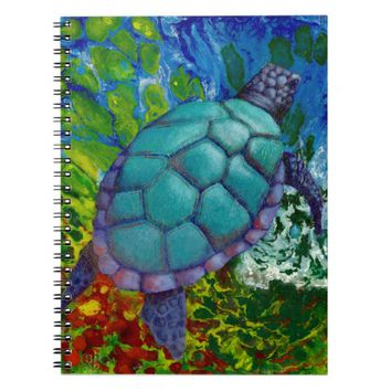 Sea Turtle Notebook