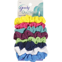 Walmart: Goody Ouchless Neon Lights Gentle Scrunchies, 8 count