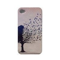 Disintegrating Tree Iphone 4 Case-mate Cases from Zazzle.com