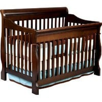 Delta Canton 4-in-1 Convertible Crib, Espresso