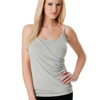 A Pea in the Pod: Spaghetti Strap Pleated Nursing Sleep Tank
