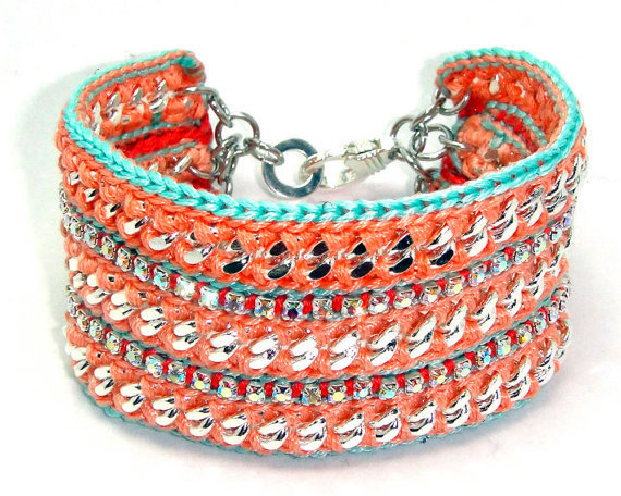 Island Storm Designer Friendship Bracelet with by GetShackled