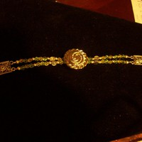 Silver Button Bracelet