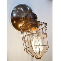 Caged Bryant Sconce/ adjustable - Lighting