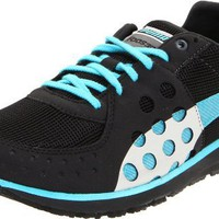 Puma Women`s Faas 300 Running Shoe,Black/Blue Atoll/Silver,11 B US
