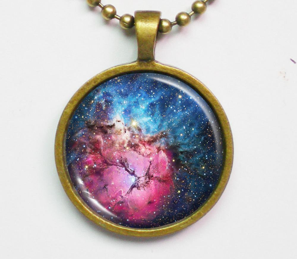Nebula Necklace - Constellation, Trifid Nebula, M20 - Galaxy Series | Luulla