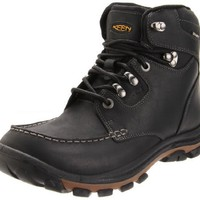 Keen Men`s Nopo Waterproof Boot,Black,11 M US