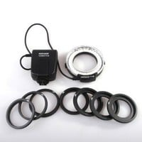 Neewer LED Macro Ring Flash FC100 For Canon Camera DSLR Canon EOS 1D/ 1Ds Series 7D/5D MarkII/60D/50D/40D/30D/20D/10D 550D/500D/450D/400D/350D/300D
