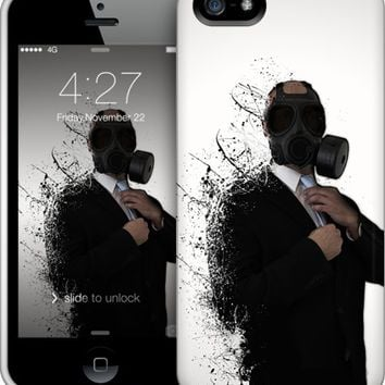 Dissolution of man iPhone by Nicklas Gustafsson | Nuvango