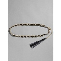 GUESS by Marciano Bria Woven Chain Belt