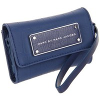 Marc by Marc Jacobs Take Me Rubber Croc Wallet,Quasar Blue,One Size