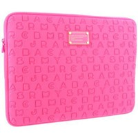 Marc by Marc Jacobs Dreamy Logo Neoprene M6121068 Laptop Bag,Fluoro Fuchsia,One Size
