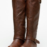 Bamboo Knee High Rider Brown Boots @ Cicihot Boots Catalog:women's winter boots,leather thigh high boots,black platform knee high boots,over the knee boots,Go Go boots,cowgirl boots,gladiator boots,womens dress boots,skirt boots.