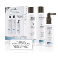 Nioxin System KIT 5: Cleanser 10.1 oz, Therapy 5.1 oz, Treatment 3.4 oz