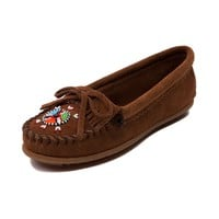 Womens Minnetonka Beaded Moc Casual Shoe