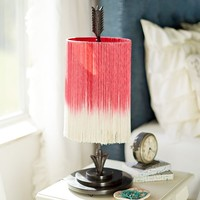 Junk Gypsy Follow Your Arrow Fringe Table Lamp