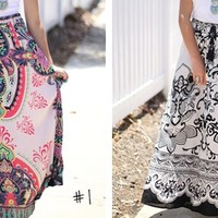 Printed Flared Skirts! 15 Styles!