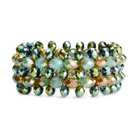 H&M - Elastic Bracelet - Green - Ladies
