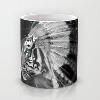 Don't Define Your World (Chief of Dreams: Tiger ) Tribe Series Mug by soaring anchor designs ⚓ | Society6