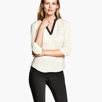 H&M V-neck Blouse $29.95