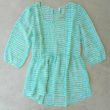.Sea and Sun Blouse [5952] - $16.80 : Vintage Inspired Clothing & Affordable Dresses, deloom | Modern. Vintage. Crafted.