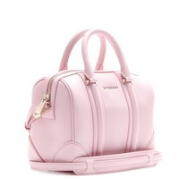 Lucrezia Mini leather bowling bag