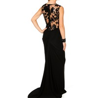 Pre-Order: Davina-Black Homecoming Dress