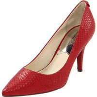 Michael Michael Kors Women`s MK Flex Mid Pump,Red,8.5 M US