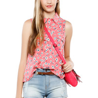 Papaya Clothing Online :: DANDELION PRINTED TOP