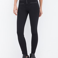 Coated High-Rise Leggings