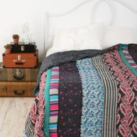 Bohemian Stripe Patchwork QuiltBack in Stock!