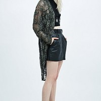 Pins & Needles Lace Cocoon Cardigan - Urban Outfitters