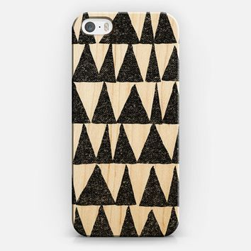 Transparent Triangles iPhone 5s case by Nick Nelson | Casetify