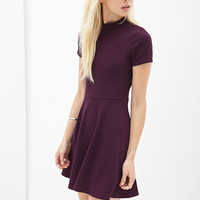 Matelassé Skater Dress - Dresses - 2000060342 - Forever 21 UK