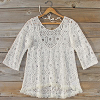 Iced Meadow Lace Tunic