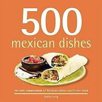 500 Mexican Dishes (Hardcover)