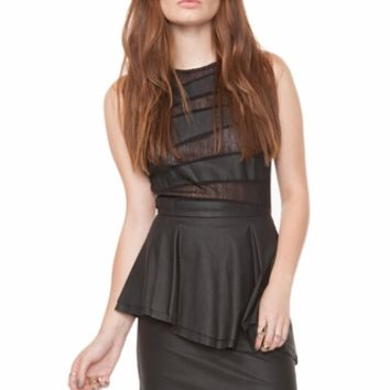 Untamed Peplum Dress *