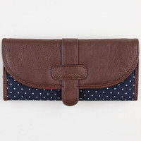 Volcom Armed And Ready Wallet Brown One Size For Women 23042240001