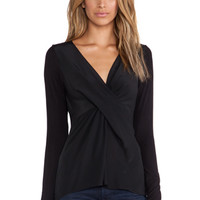 Waterfall Top in Black