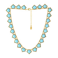 House of Harlow 1960 Jewels of Java Necklace Gold Tone/Turquoise - Zappos.com Free Shipping BOTH Ways