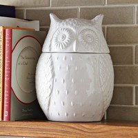 Owl Cookie Jar | west elm