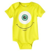 Disney® Newborn Boys' Monsters Inc. Bodysuit - Green