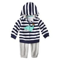 Just One You™Made by Carter's® Newborn Infant Boys' Cardigan Set - Gray