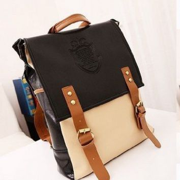 Coofit® New Retro Vintage Women's School Bag Handbag