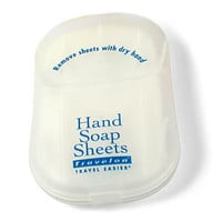 Dissolving Hand Soap Sheets